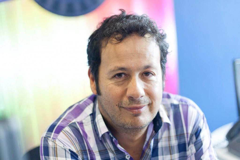 Alejandro Villalobos - Periodistas de RCN - foto por Juan Aguayo