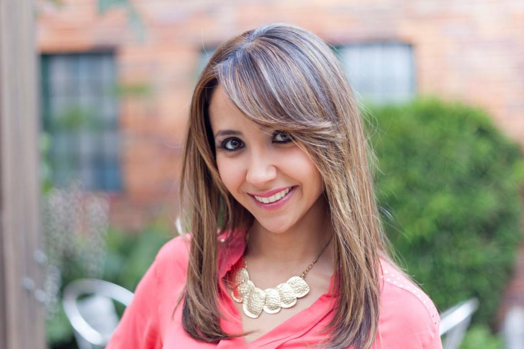 Andrea Silva - Periodistas de RCN - foto por Juan Aguayo