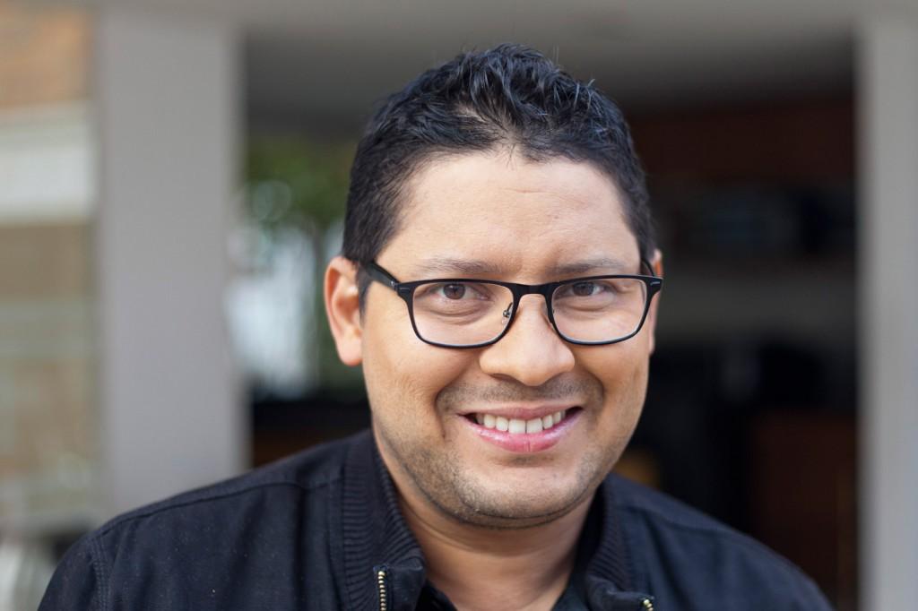 Boris Zetta - Periodistas de RCN - foto por Juan Aguayo