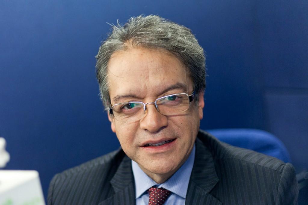 Guillermo Diaz - Periodistas de RCN - foto por Juan Aguayo