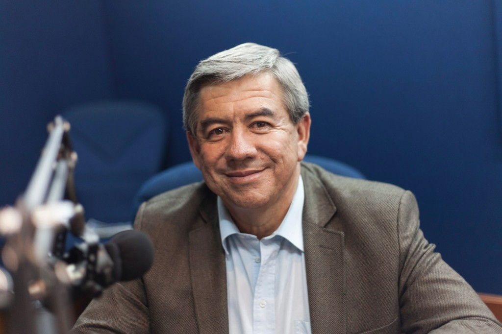 Hector Palau - Periodistas de RCN - foto por Juan Aguayo