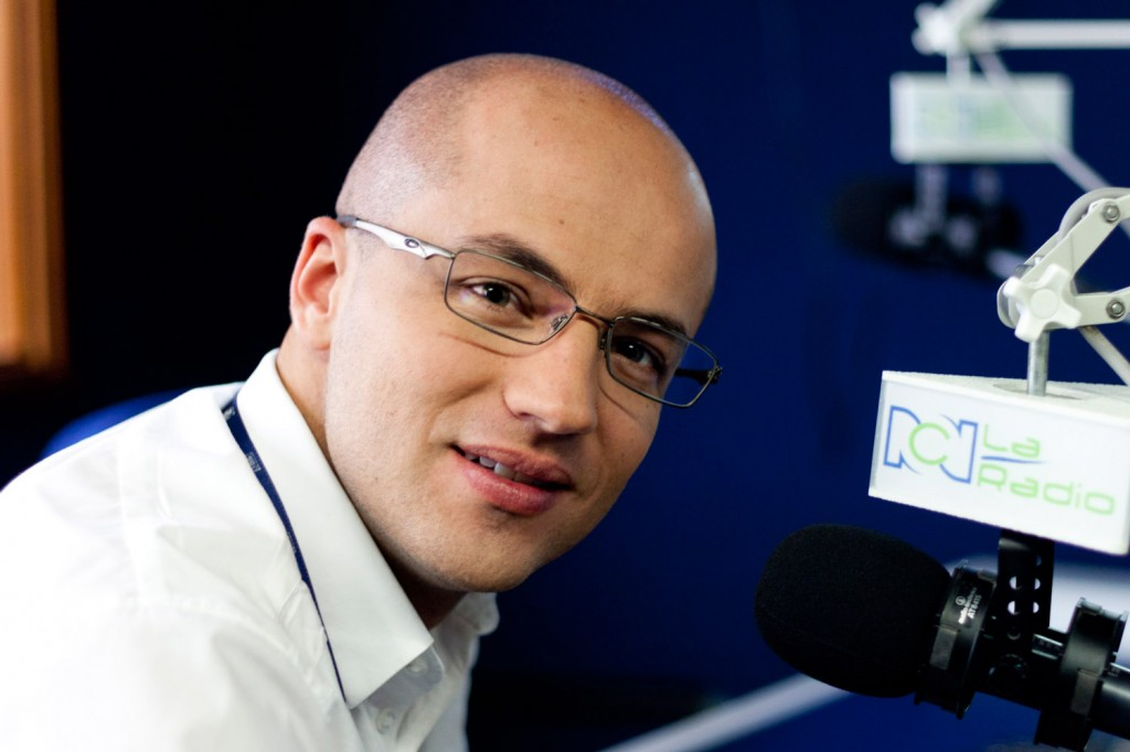 Jorge Espinosa - Periodistas de RCN - foto por Juan Aguayo