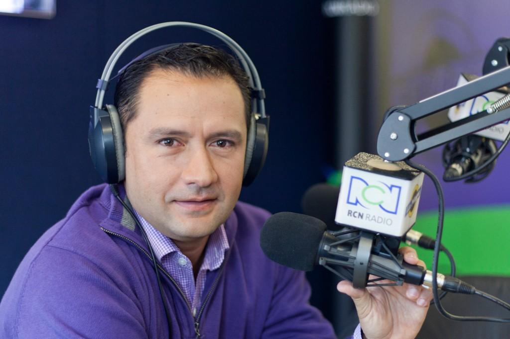Jose Fernando Neira - Periodistas de RCN - foto por Juan Aguayo