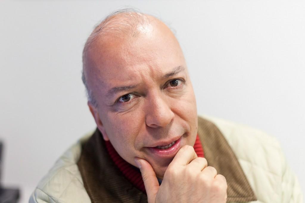 Julian Parra - Periodistas de RCN - foto por Juan Aguayo