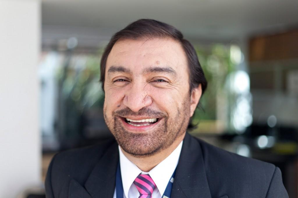 Luis Alfredo Céspedes - Periodistas de RCN - foto por Juan Aguayo